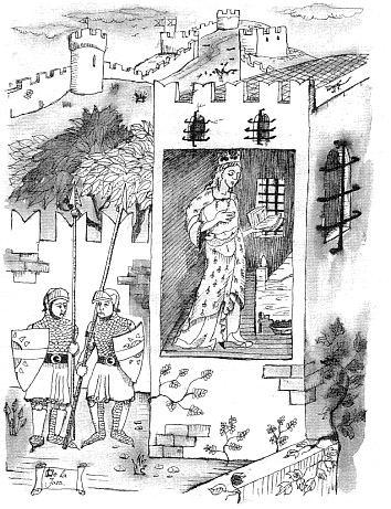 dibujo blanca encarcelada